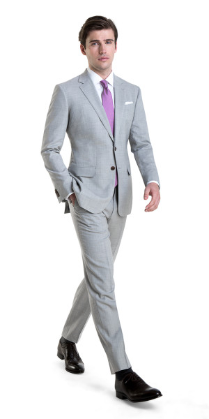 purchase genuine fashion style release date Light Gray Fresco Suit